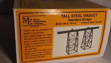 HO Micro- Engineering #75-514 TALL STELL VIADUCT 150 FT STANDARD BRIDGE