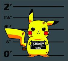 Mugshot Pikachu Custom T-Shirt Design By TEEIMP.COM