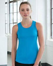 AWDis Mujer Para chica Just Cool Deportivo Transpirable Gimnasio Fitness