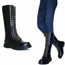 Stivali da donna anfibi nero taglia 40 | Acquisti Online su eBay