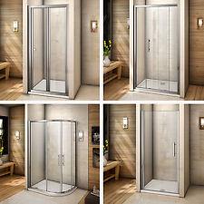 Bi fold/pivot/quadrant/sliding shower door walk in glass screen enclosure