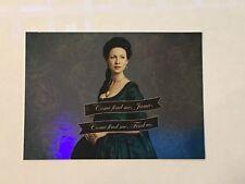 Cryptozoic Outlander Season 2 Trading Card Parallel Foil #C6, #V7, or #Q1