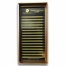 Wimpernverlängerung Y 2D Volume Lashes Wimpern Fertige Fächer C D 0,10mm Stärke