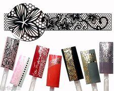 Nailart Sticker Aufkleber für Nageldesign Modellage Ornamente Streifen HBJY003