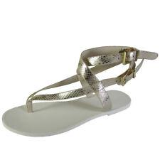 Kenneth Cole Womens Ariel K3 Buckled Flat Thong Sandal Shoe