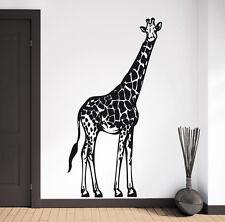 Giraffe Afrika Safari Savanne Serengeti Deko Wohnzimmer Wandaufkleber WandTattoo