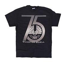 The Hunger Games 2: Catching Fire 75th Quarter Quell Mens Black T-Shirt