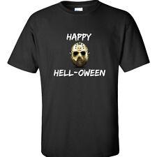 Happy Helloween T Shirt Jason Friday the 13th Halloween Tee
