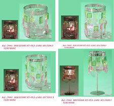 Porta candele tea light portalumino con cuori e pendenti cena innamorati