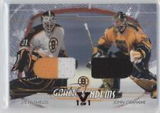 2002-03 #GT-17 Steve Shields John Grahame Anaheim Ducks (Mighty of Anaheim) Card