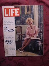 LIFE August 25 1972 Aug 72 PAT NIXON CLAUDIO ARRAU +++