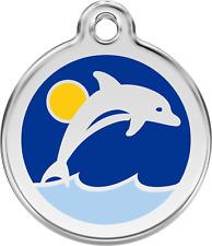 médaille gravée chien ou chat red dingo dauphin 3 tailles