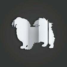 Tibetan Spaniel Style 2 Silver Acrylic Mirror