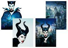 Angelina Jolie Disney Maleficent Teaser A3 Printed Film
