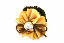 Floral Ribbon Ponytail Holder