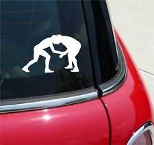 WRESTLING #4 WRESTLE WRESTLERS GRAPHIC DECAL STICKER ART CAR WALL DECOR