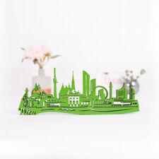 """KLEINLAUT 3D-Skyline """"Wien"""" aus Holz 32 Farben Geschenk Geburtstag Stadt City"""
