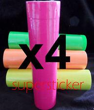 40 Roll X 500 Tag label Refill Common Price Gun Pink