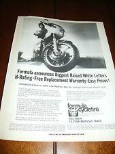 1978 KAWASAKI  Z1R FORMULA CYCLETIRE ***ORIGINAL AD*** KZ1000   Z-1R