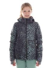 Brunotti Ski Jacket Snowboard Jacket Snow Jacket Green Phoebe Pattern Warm