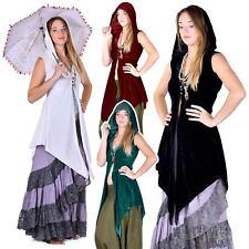 Samhain Priestess Tunic, Velvet Witch Jacket, Moon Maiden Pagan Wedding Cloak