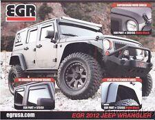 2012 EGR Jeep Wrangler/Hyundai Santa Fe SEMA Show Promo info card