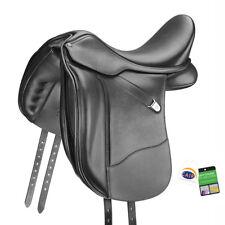 """Bates Large Dressage + Réglable Performance Support Selle cair noir 16.5"""" -18"""""""