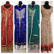 Ladies Indian Pakistani Party wear Wedding Anarkali Salwar Kameez 40 42 44 48