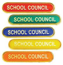 School Council Bar School Badges Red, Green, Blue, Yellow, Orange