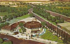 E9397 TX, Odessa Globe Community Theatre Postcard