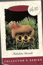 1995 Hallmark Fabulous Decade Dated 6th Ed Ornament Nib New