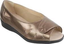 Cosyfeet Extra Roomy Keira Womens Sandals Bronze EEEEE+ Fitting UK 3 4 5 6