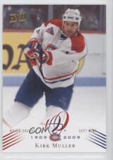 2008-09 Upper Deck Montreal Canadiens Centennial Set #66 Kirk Muller Hockey Card