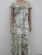 Jacques Vert Acorn Range 'Leaf' Silk Blend Devore Dress 12 &14 BNWT