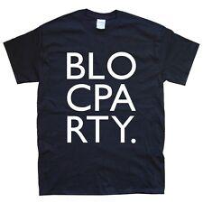 BLOC PARTY new T-SHIRT sizes S M L XL XXL colours black white