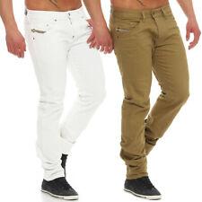 Diesel Jeans Belther 0847E Herren Hose Regular Slim Tapered weiß oder Khaki NEU