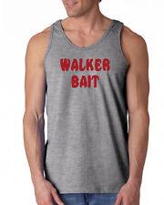 039 Walker Bait Tank Top walking funny zombie dead costume rick dixon show new