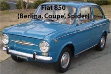 Manuale dati riparazione e restauro  FIAT 850
