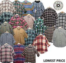 3 pcs Random Vintage Unisex Flannels Shirts mens women