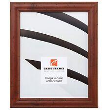 """Craig Frames Rustic Primitive, 1.13"""" Walnut Brown Picture Frame"""
