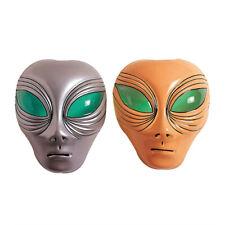 ALIENO Maschera testa UFO DI CARNEVALE spaziale