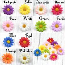 30Pcs Artificial Gerbera Daisy Silk Flowers Heads Sunflower Wedding Home Decor