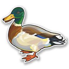 2 x Duck Vinyl Sticker Decal iPad Laptop Car Motorbike Bird Funny Gift #4649