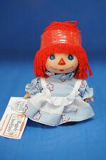 "Raggedy Ann Timeless Treasures 5"" Vinyl Doll Precious Moments Hi Baby #5201"