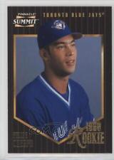 1996 Pinnacle Summit #182 Felipe Crespo Toronto Blue Jays Baseball Card