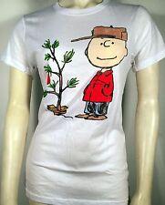 PEANUTS CHARLIE BROWN TREE STAND CARTOON CLASSIC COSTUME JUNIORS T SHIRT S-2XL