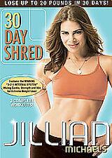 Jillian Michaels - 30 Day Shred (DVD, 2008) VG@