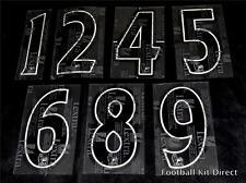 Premier League 2007/13 Black Lextra Senscilia Football Short Numbers 0-9