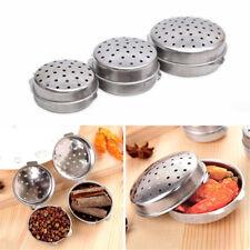 3 Sizes Stainless Steel Ball Tea Leaf Infuser Mesh Filter Strainer