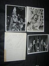 Original COLORCRAFT Mock Up Photos GEE GEE'S ALASKANS + CLYDE BROS LETTERHEAD